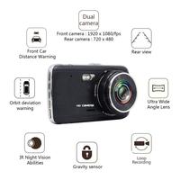 64gb full hd dual objektiv dashcam kfz kamera car blackbox. Black Bedroom Furniture Sets. Home Design Ideas