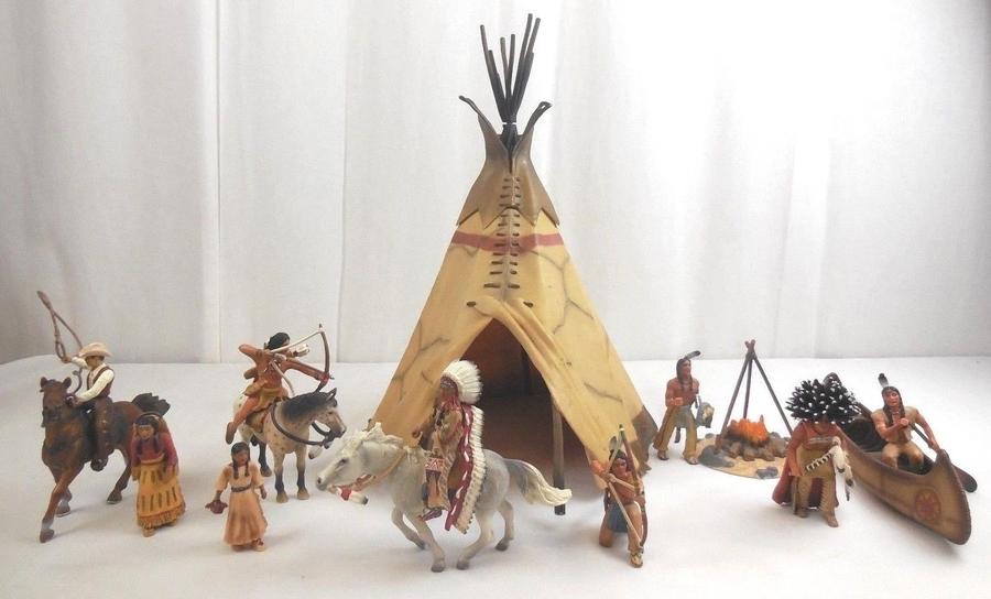 Schleich Indianer