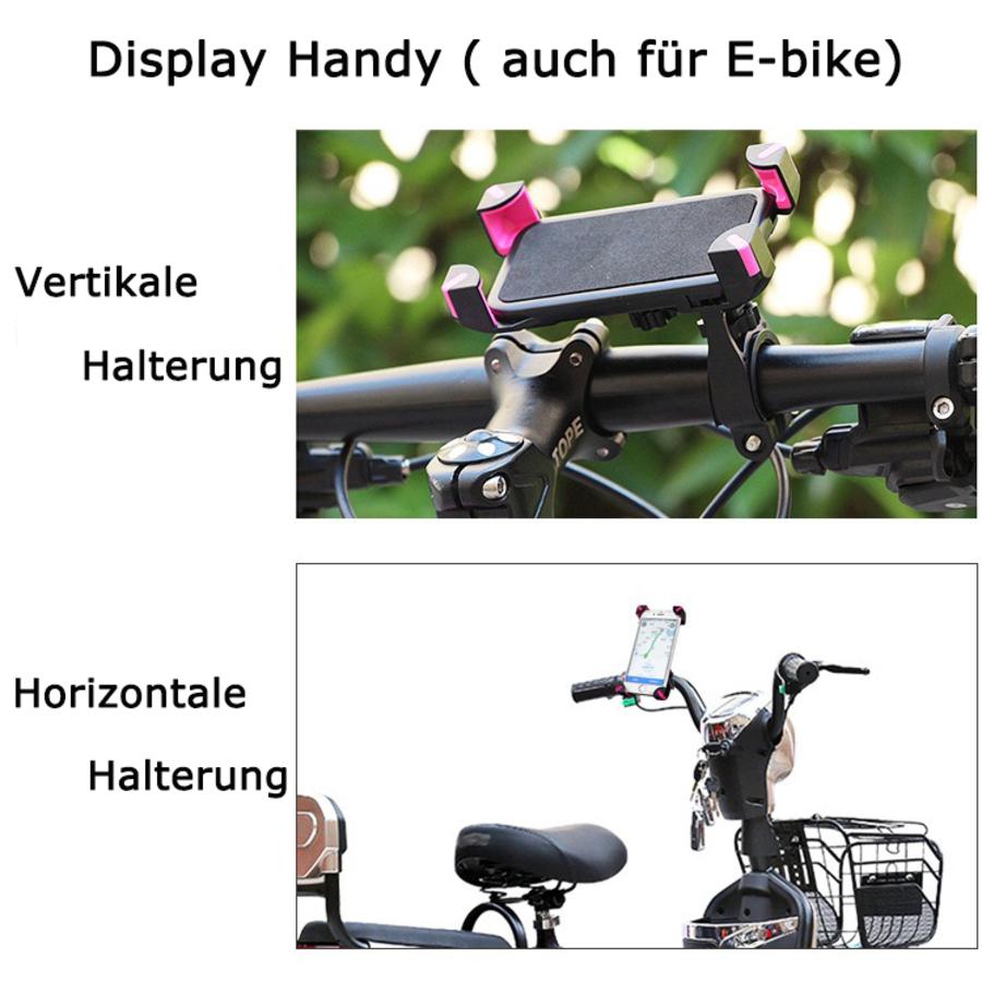 handy smartphone halterung fahrrad lenker halter bike 360. Black Bedroom Furniture Sets. Home Design Ideas