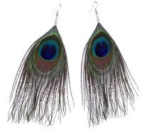 Feder Ohrringe Indianer Ohrhänger Neon Federohrringe Federschmuck Pocahontas