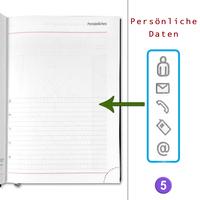 Sigma Buchkalender 2021 Schwarz Größe DIN A5 Wochenplaner Büro Chef Kalender