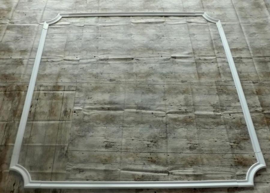 Decken//Wandspiegel Nr.9 aus Stuckgips