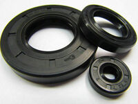 2 Stück  Wellendichtring Simmerring 12X25X4,5 Bauform AS DIN 3760
