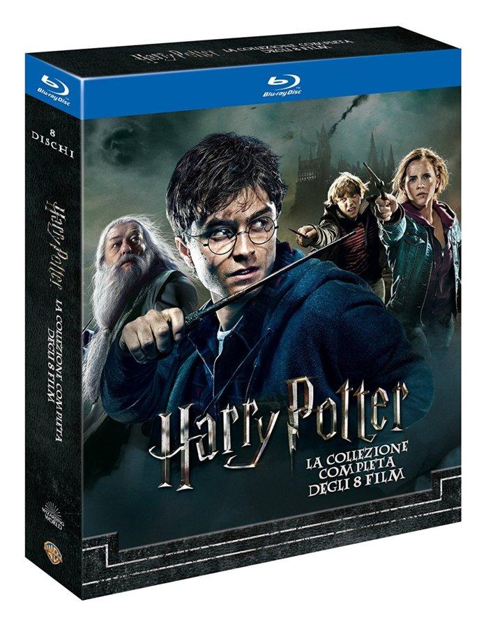 Harry Potter Box Komplettbox 1 8 Teil 1 2 3 4 5 6 7 1 7 2 Neuware Ovp Blu Ray Ebay