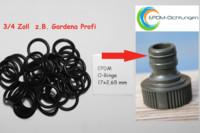 O-Ring Dichtung 10 stück für alle 16x2,5x11mm Schlauchsysteme z.B.Gardena usw