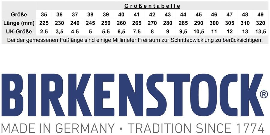 BIRKENSTOCK Passform & Größentabelle | Schuhshop24