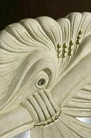 Bronzeplastik Seehund Seerobbe Bronze sculpture seal