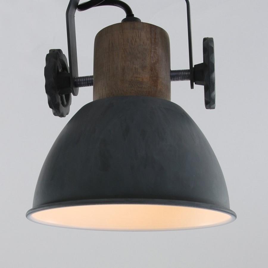 STEINHAUER 7969GR Deckenlampe Vintage Industrie Lampe Edison Leuchte Retro LED !
