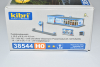 Kibri H0 38544 Historische ARAL Tankstelle inkl LED-Beleuchtung Neuware