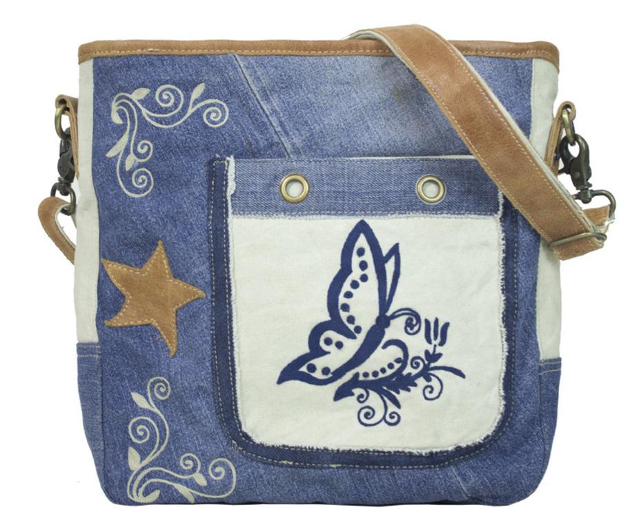3ccad781a7727 Damentasche Herren Sunsa Canvas Bag Umhängetasche Jeans Schultertasche  Vintage