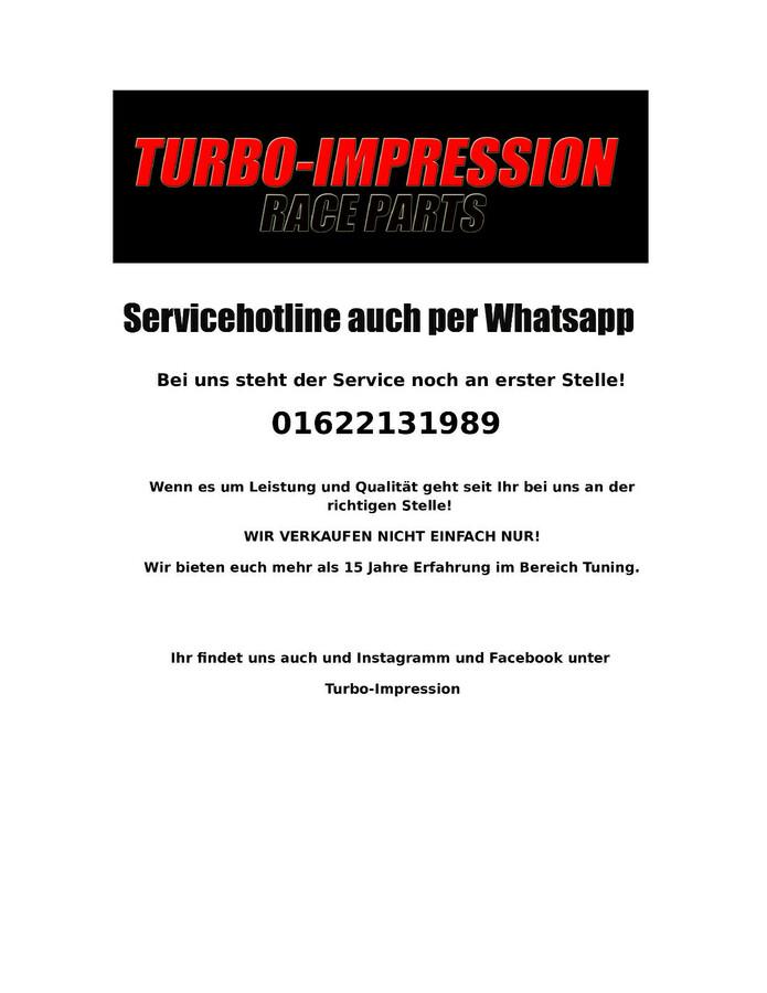 Turbolader Krümmerdichtung Garrett T3 geteilt TwinScroll Dichtung
