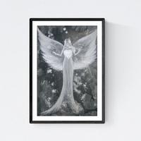 """➤ ENGELBILD Kunstfoto ❊ /""""Kraft der Liebe/"""" ❊ ENGEL GESCHENKE ❤ VALENTINSTAG ❤"""