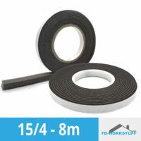 1 Stück grau Kompriband Dichtband FUGENDICHTBAND in schwarz o SOUDAL