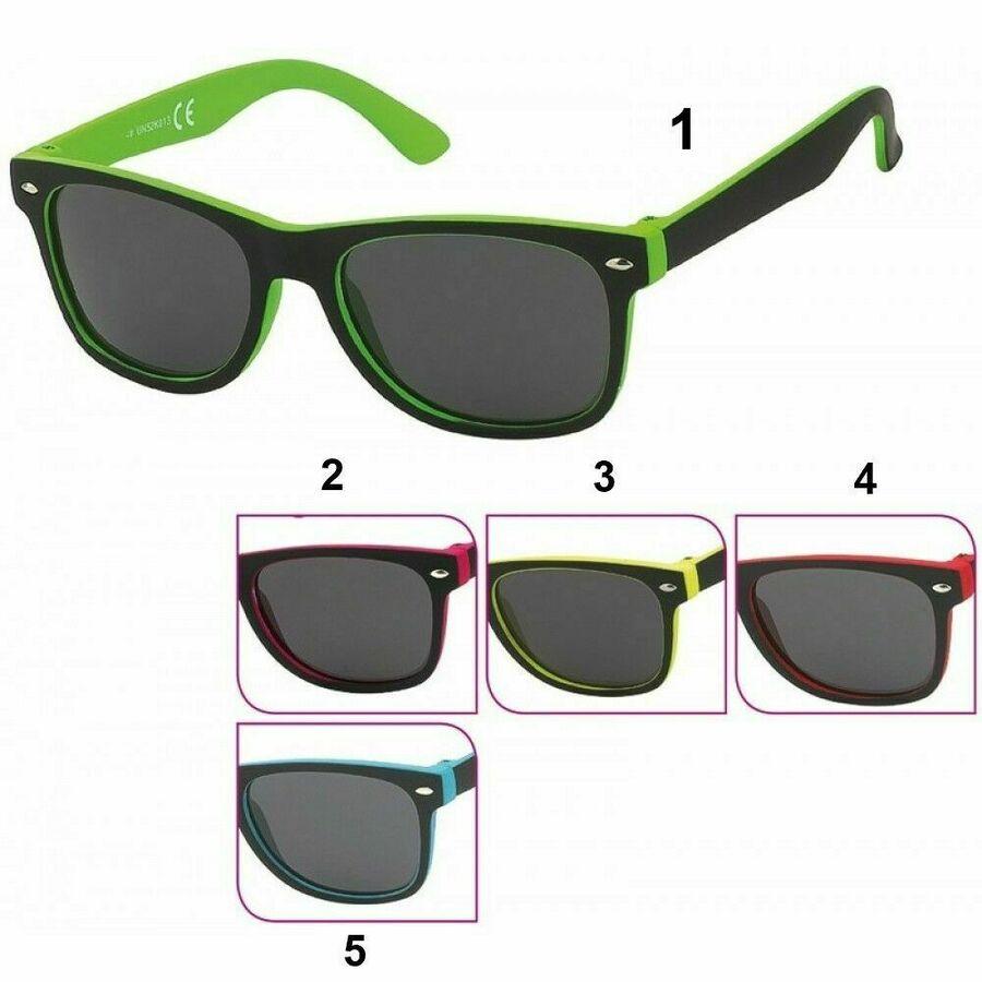 Details zu Mercedes Benz Brille coole Jungen Sonnenbrille UV 400 Kunststoffbrille GrünGelb