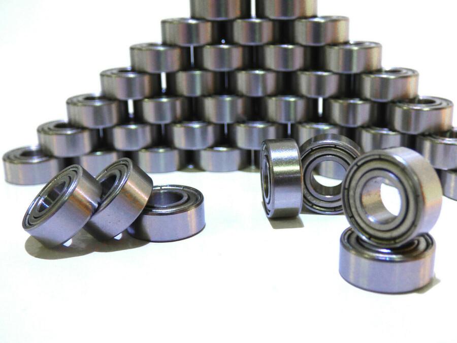 10 Stück Kugellager 6 x 13 x 5mm mit Gummidichtung 686-2RS bearing