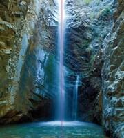 Einzel Duschrückwand Rückwand Alu Fliesenersatz Wasserfall Chantara Eck