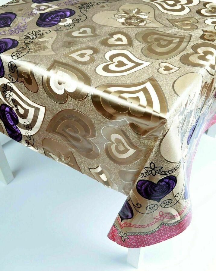 Wachstuch Tischdecke Tischdecken nach Maß Meterware 140 cm ...
