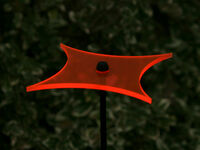 "Sonnenfänger Sonnenscheiben Suncatcher 6er Set /"" RAUTEN /""Ø15cm Stab 100cm"