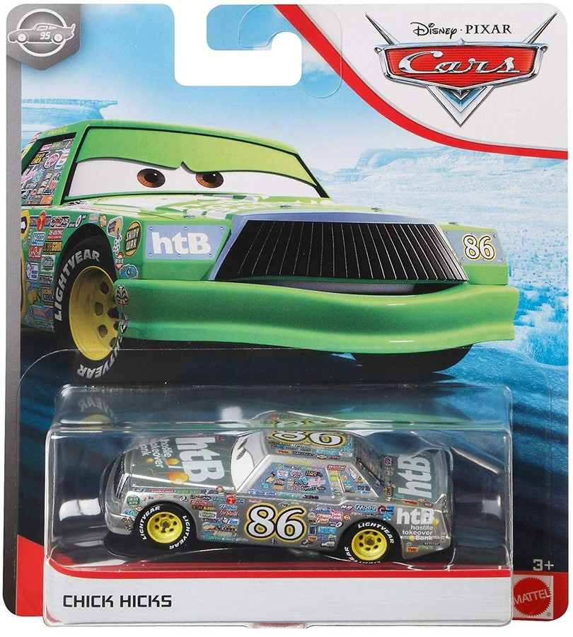 Disney Cars Jackson Storm Silver Collection 20 Diecast Toy Car 1