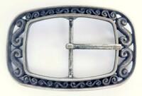 Gürtelschnalle Trachtenschliesse für 4 cm Wechselgürtel Schnalle Trachten  NF