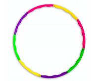 Hula Hoop Fitness Reifen 8-teilig Hüftmassage Sport Massage Gymnastik PlastikeR