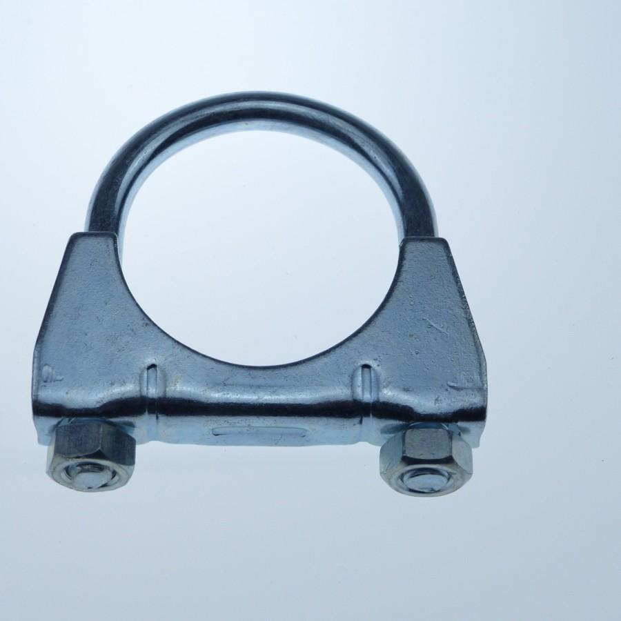 3 x Auspuffschelle Clamp M8 Ø 56 mm Montageschelle Bügelschelle